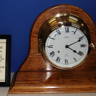 Hermle Ships Bell Clock